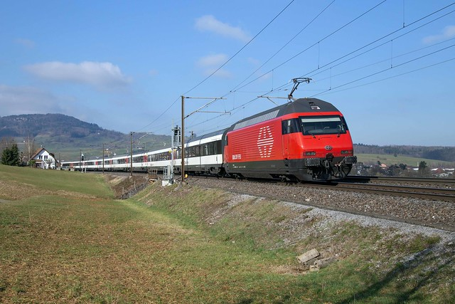 SBB Re 460 075 Frick