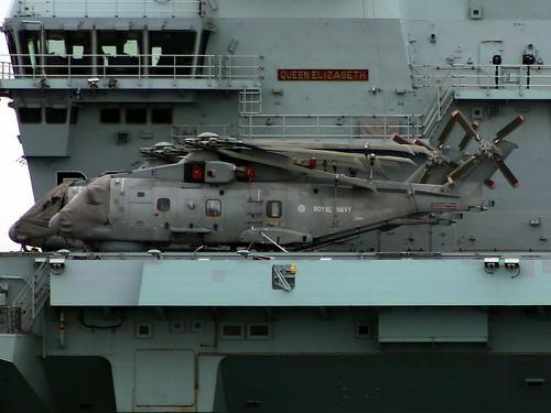 ZH841 Merlin HMS QE R08 20-05-21