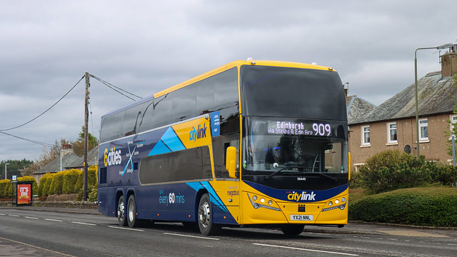 50449 YX21NNL Stagecoach Perth
