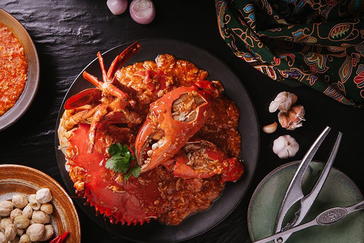 Chilli Crab from JUMBO Seafood