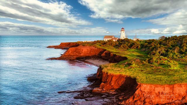 Cavendish Beach Lighthouse, PEI, Canada