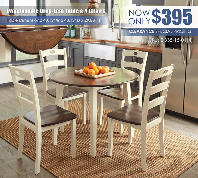 Woodanville Cream Brown Drop Leaf Table & Chairs_D335-15-01(4)-ALT