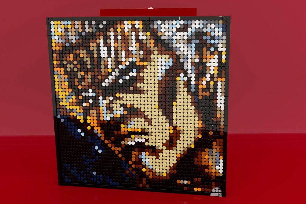 ラオウ の LEGO Art!! (Built using parts of LEGO set 31198)