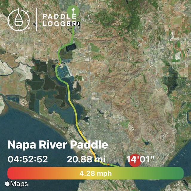 Napa River Paddle - May 2021