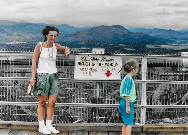 Royal Gorge Bridge ~  Canon City Colorado ~ Highest Suspension Bridge in  USA
