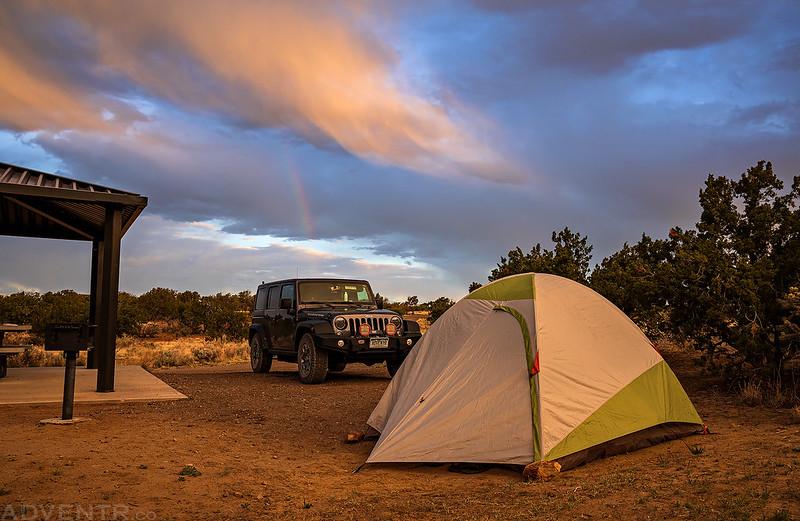 Joe Skeen Campground Sunrise