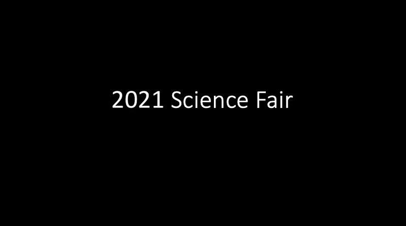 2021 Science Fair
