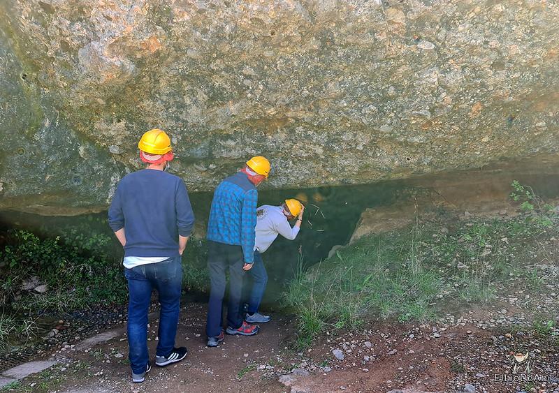 Entramos en las minas de manganeso de Puras de Villafranca (12)