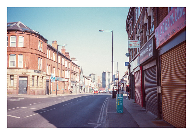 The top of London Road