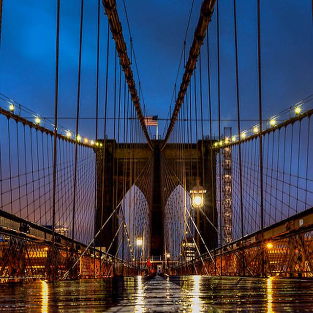 Brooklyn Bridge Drizzle
