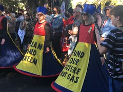 Clean and Green - Climate Strike Melbourne 21 May 2021