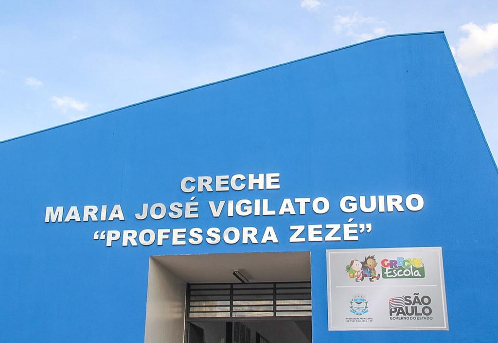 Inauguração da Creche Escola Maria José Vigilato em Tupã Paulista