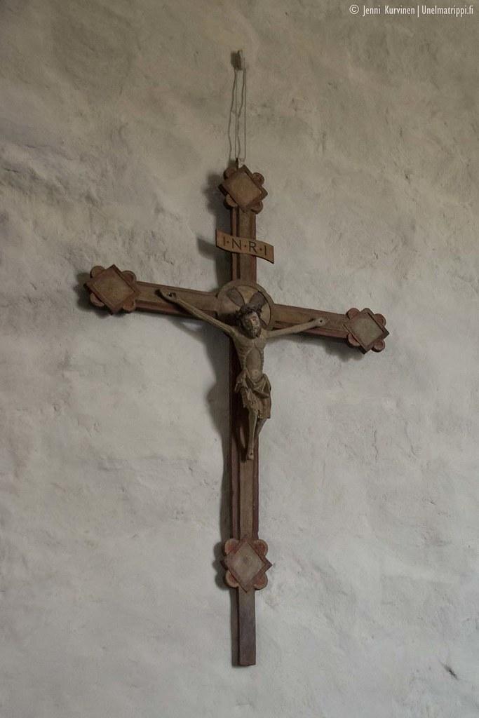 Ristikoriste Eckerön kirkossa