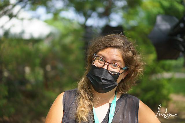 Alexandra avec masque