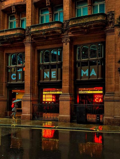 Cinema, lights, reflections &shadows
