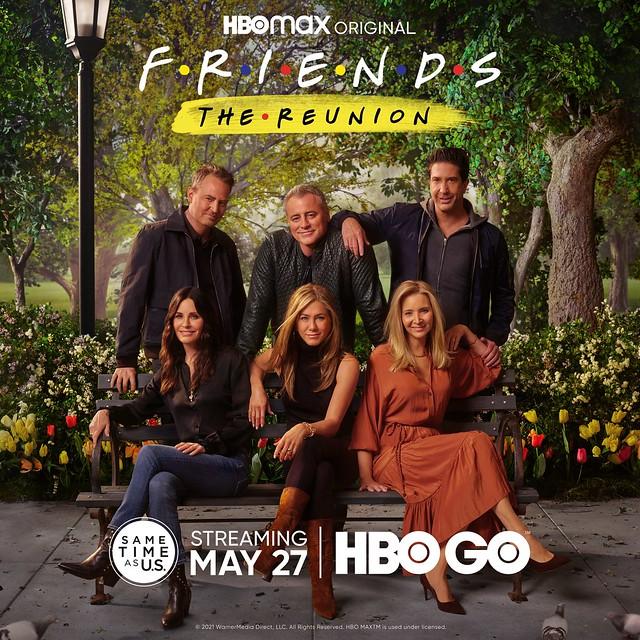 Hbo Go - Friends The Reunion Key Art