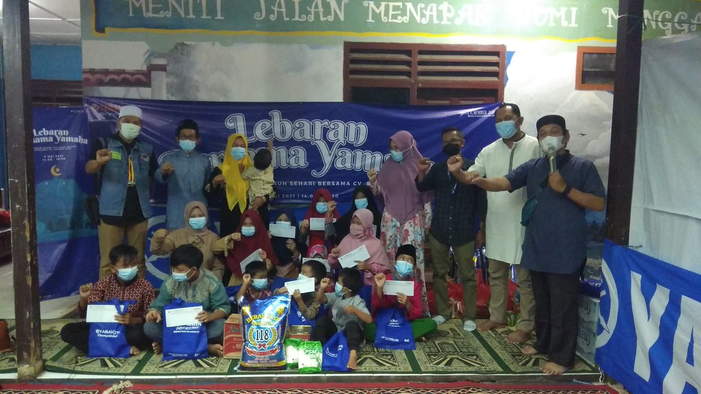 Aktivitas sosial di panti asuhan An-Nisa di Pangkal Balam