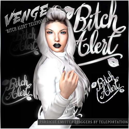 VENGE - 'Bitch Alert' Telepoofer Advert