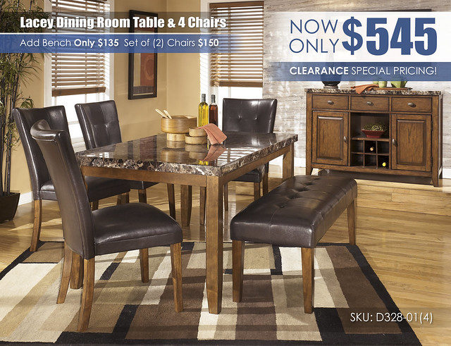 Lacey Table Chairs & Bench Special_D328-25-01(4)-00-60-SD