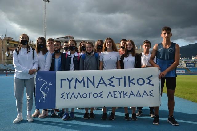 Έκλεισαν θέσεις στο Πανελλήνιο Πρωτάθλημα οι Κ16 του Γυμναστικού Συλλόγου Λευκάδας