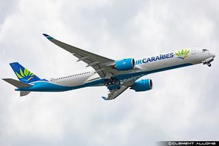 Air Caraïbes Airbus A350-1041 cn 482 F-WZNI // F-OTOO