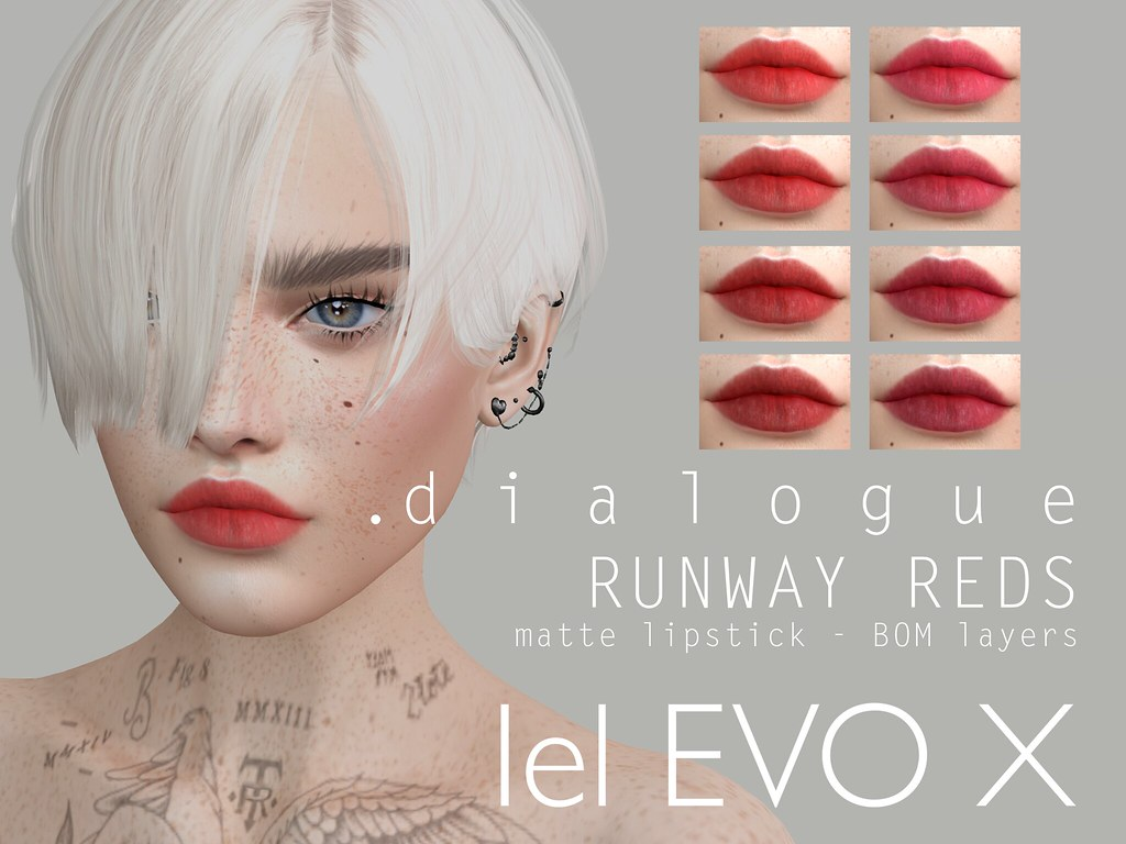 .dialogue RUNWAY REDS out now @ :::Beauty Event:::