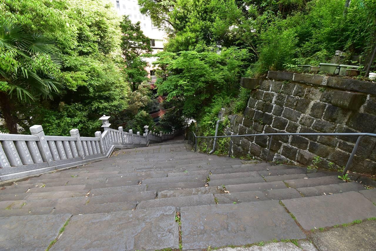 【東京港区】愛宕山・女坂の階段