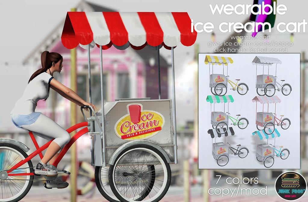 Junk Food – Wearable Ice Cream Cart