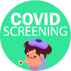 COVID Screening Flyer