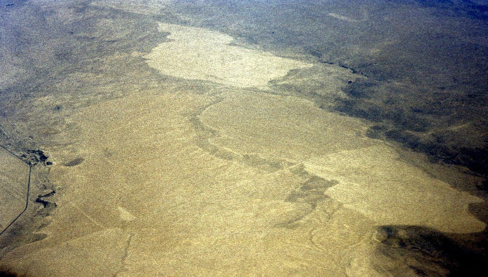 06. 1982. Полет над пустыней из Алма-Аты в Ташкент