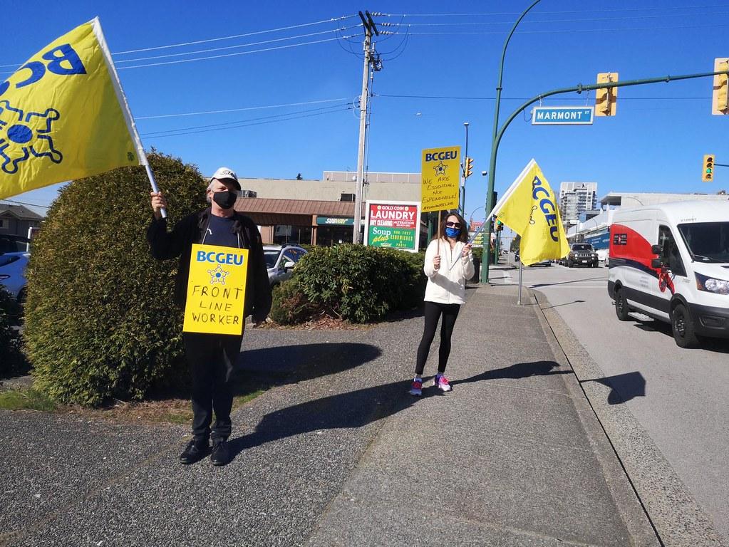 Coquitlam rally