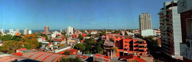 Posadas city to the Southeast