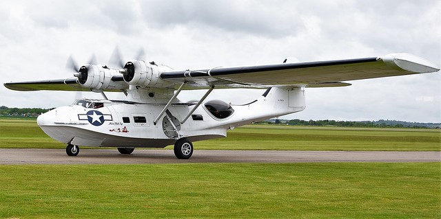 Consolidated PBV-1A Catalina 433915 G-PBYA Miss Pickup Built in 1943 by Canadian Vickers RCAF
