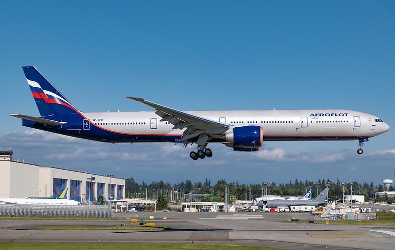 Aeroflot Boeing 777-300ER VP-BFC