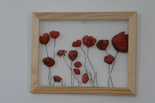 Peinture du verre Instants fragiles Marion Vidaling