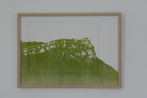 Linogravure Dent de Crolles