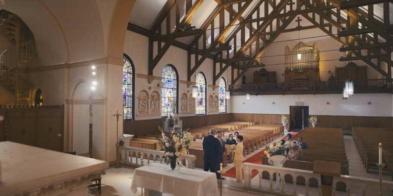 Liza Minnelli wedding church