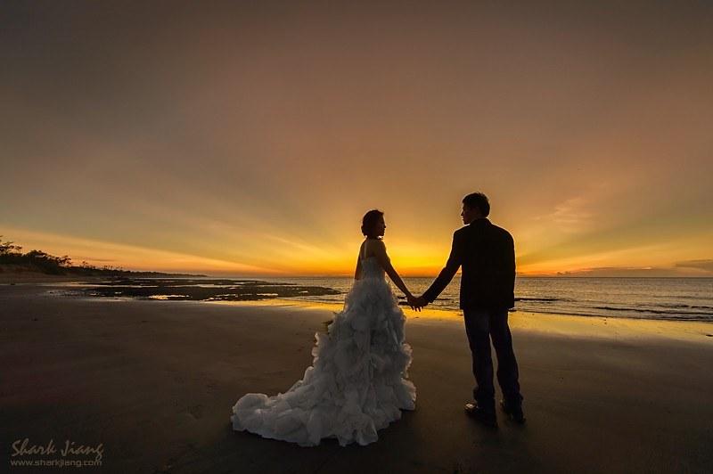 台北海邊拍婚紗