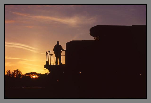 CN IC 6201 Sunrise - 5/18/2010