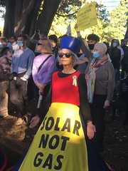 Solar not Gas - Climate Strike Melbourne 21 May 2021