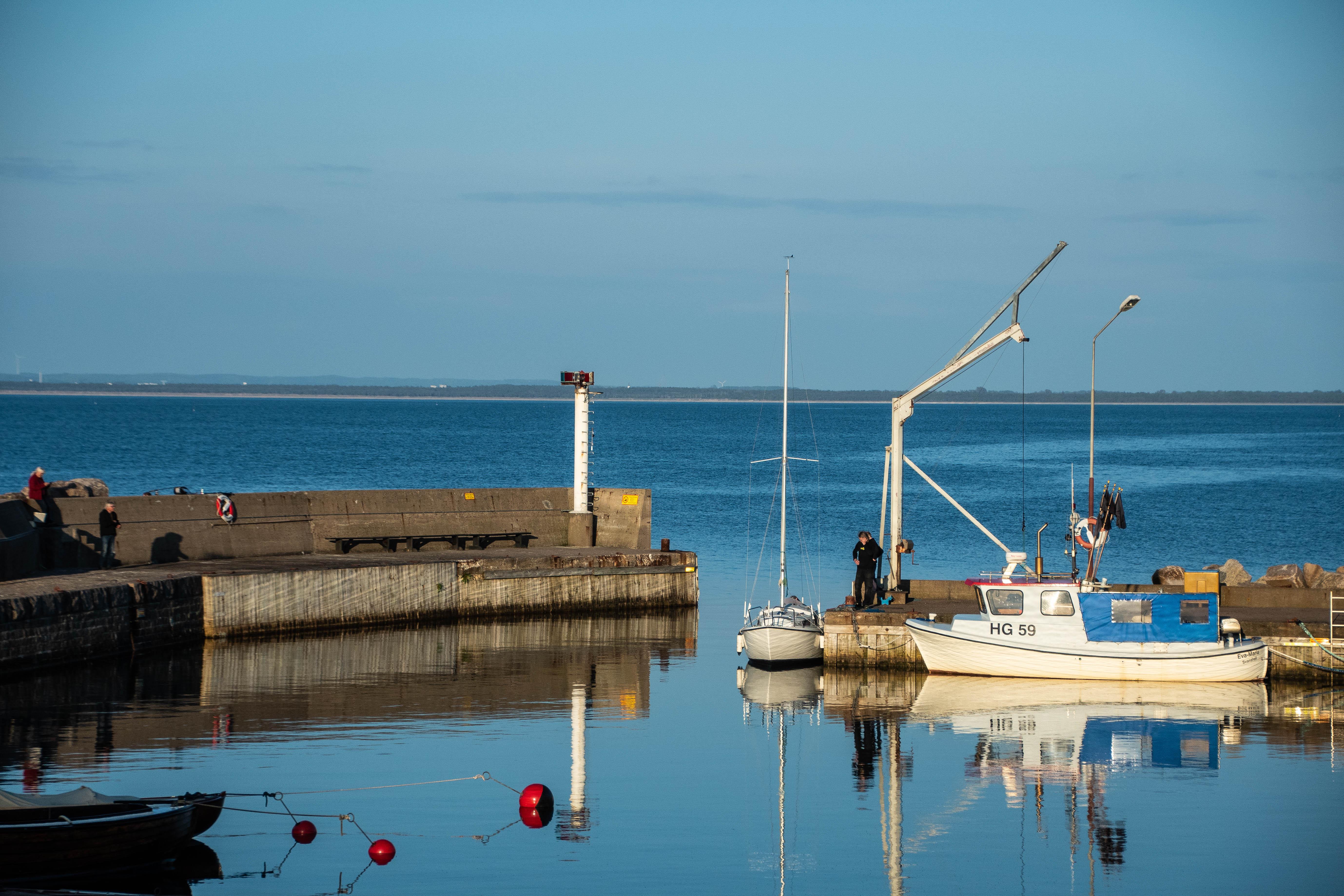 Svanshall harbour