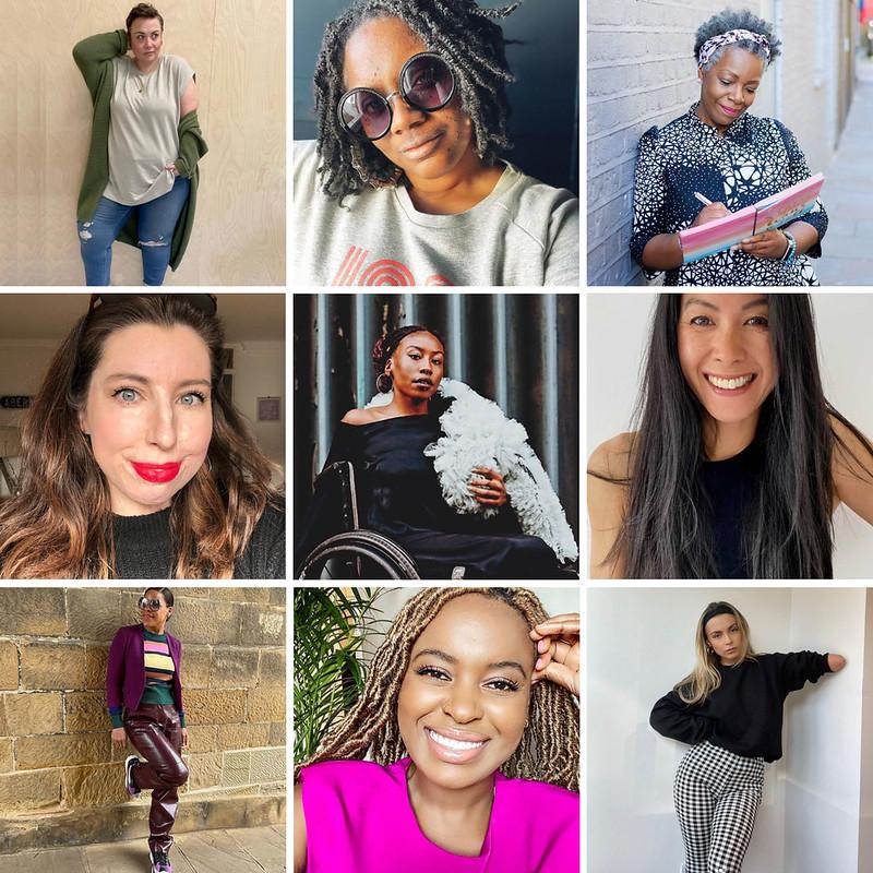 Diverse UK-Based Influencers
