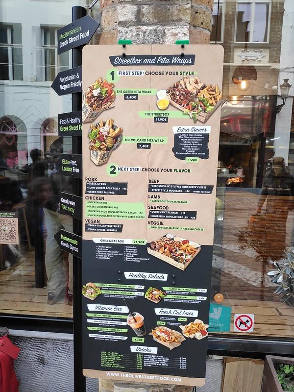 The Olive Street Food. Brujas.