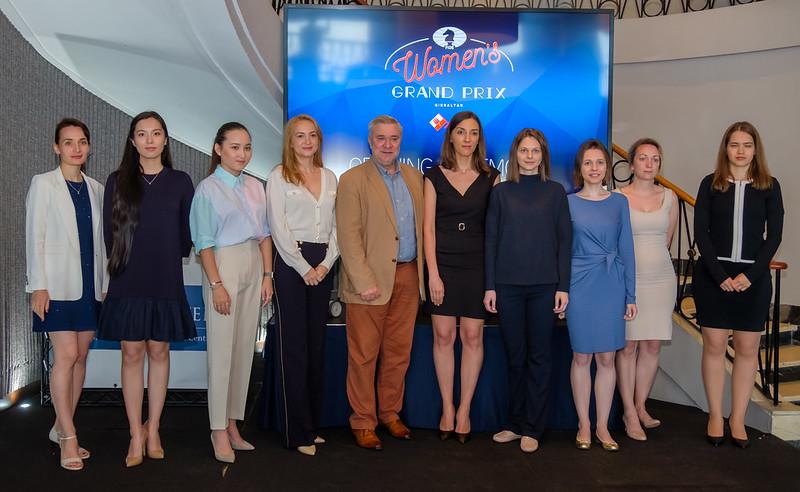 20210521 FIDE Women GP Photo John Saunders Day 0 Opening Ceremony