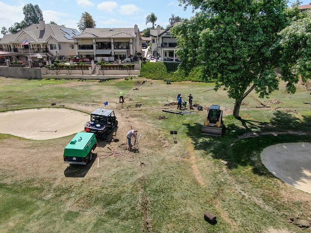 Golf Course Irrigation Project