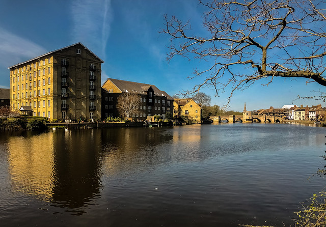 The River Great Ouse at St.Ives, Cambridgeshire
