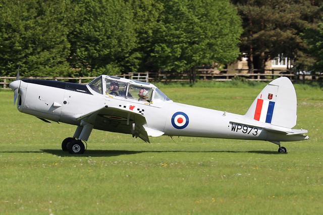 G-BCPU/WP973  -  De Havilland Canada DHC-1 Chipmunk MK22 c/n C1/0839  -  EGTH 22-5-21
