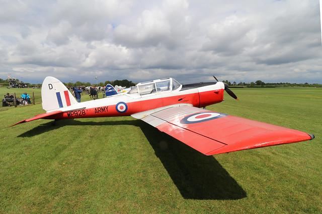 G-BXGM/WP928  -  De Havilland Canada DHC-1 Chipmunk T10 c/n C1/0806  -  EGTH 22-5-21