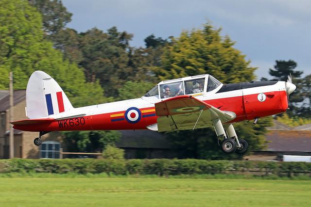 G-BXDG/WK630  -  De Havilland Canada DHC-1 Chipmunk T10 c/n C1/0644  -  EGTH 22-5-21