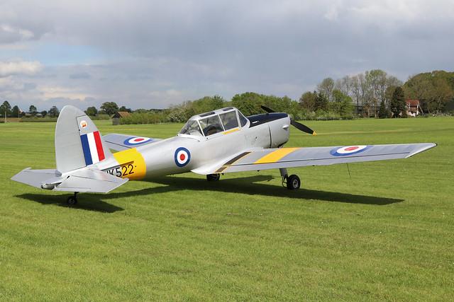 G-BCOU/WK522  -  De Havilland Canada DHC-1 Chipmunk 22 c/n C1/0559  -  EGTH 22/5/21